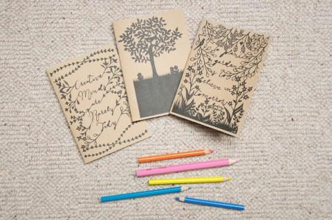 Set of 3 Notebooks by Crafty Lou