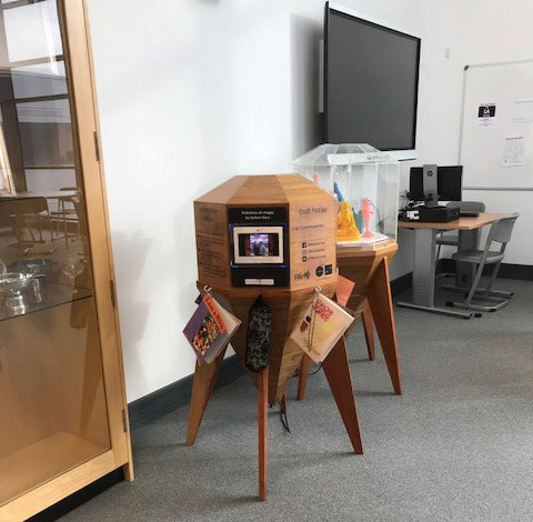 Craft Pods at Levenmouth Academy, Buckhaven