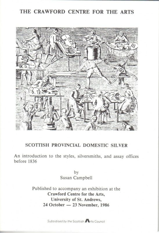 scottish provincial domestic silver front cover
