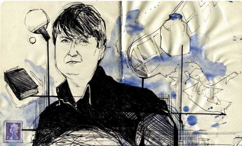 Simon Armitage illustratrion by Alan Vest