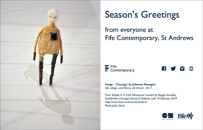 Fife Contemporary's Season's Greetings e-card
