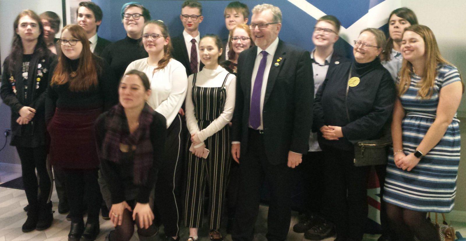 Group image, Edinburgh Scottish Office event
