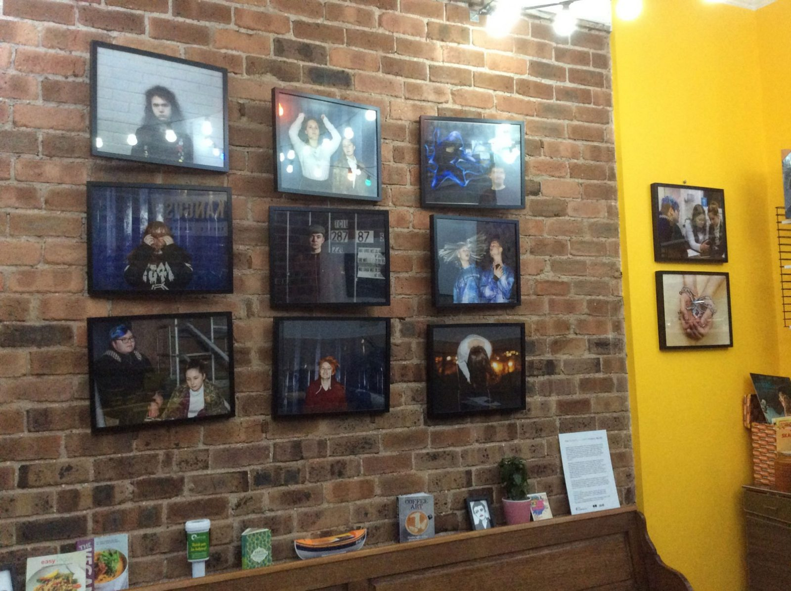 Exhibition in Kangus Cafe