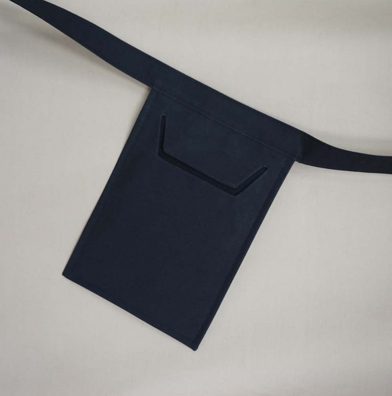 Black Envelope Pouch