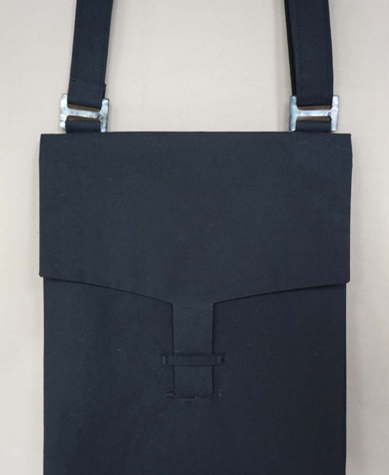 Black Large Letter Bag