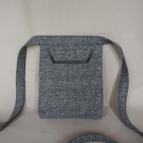 Grey Envelope Bag