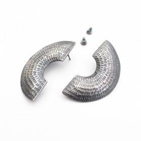 Gibbous Stud Earring