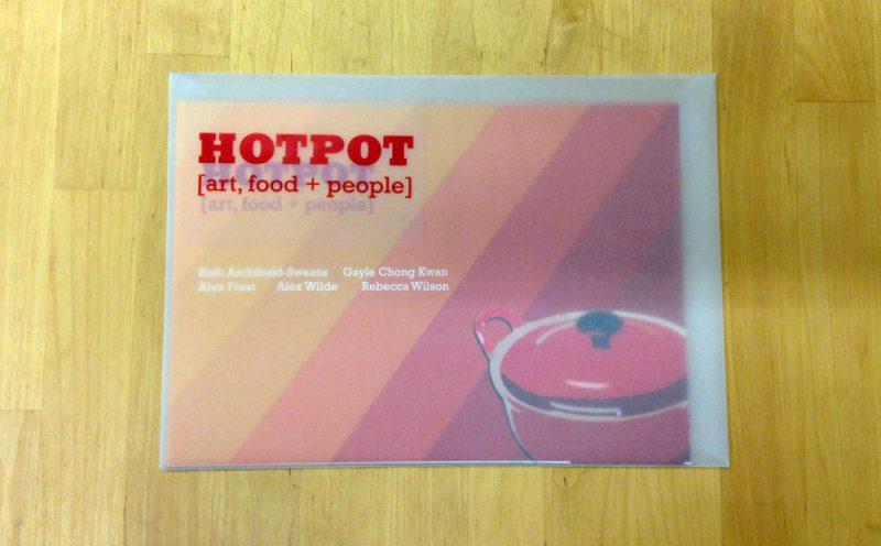 Hotpot, art, food & people