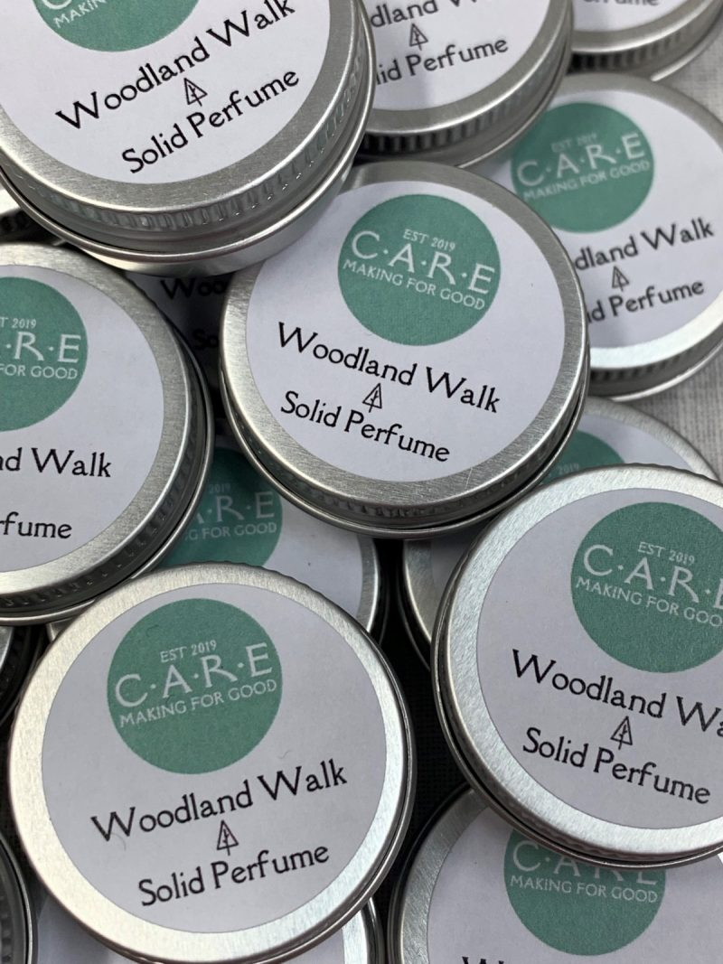 Woodland Walk Solid Perfume, CARE product