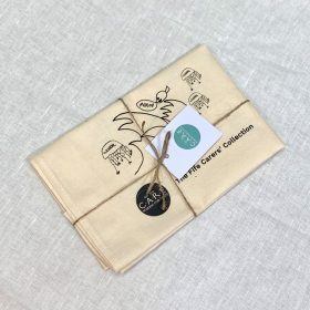 The Fife Carers' Collection cotton tea towel