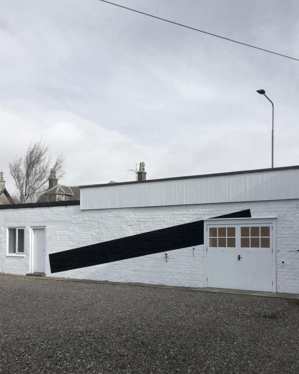 Installation by Erris Huigens, 2020