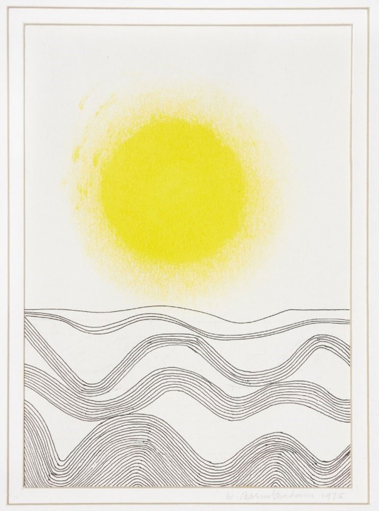 Wilhelmina Barns-Graham, Linear Development Five, 1975 (BGT 786)