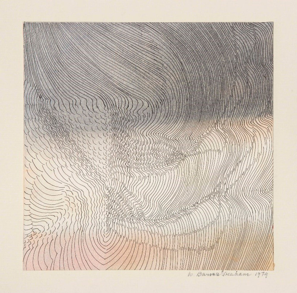 Wilhelmina Barns-Graham, Wind Dance, North Sea, 1979 (BGT 824)