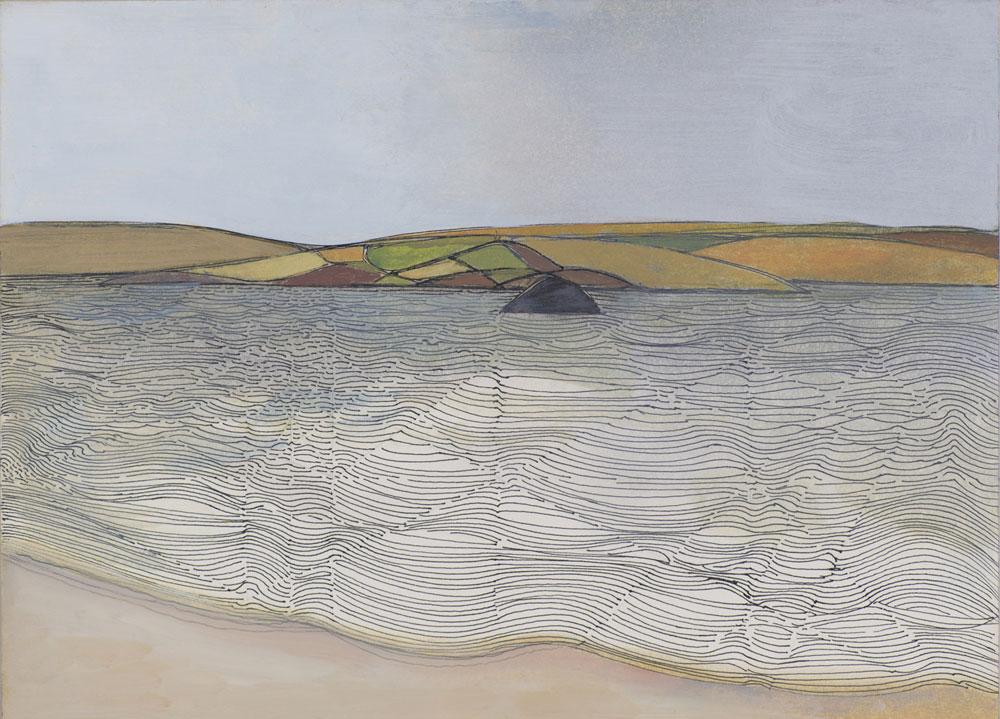 Wilhelmina Barns-Graham, Near Cellardyke, Fife, 1979 (BGT 99)