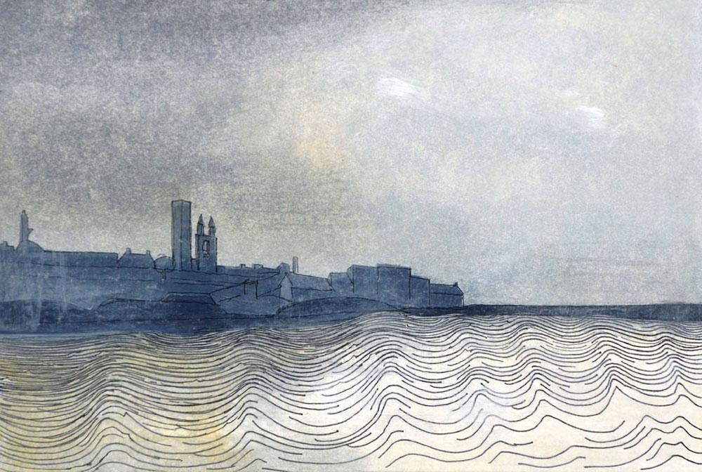 Wilhelmina Barns-Graham, St Andrews looking West, 1981 (BGT16)