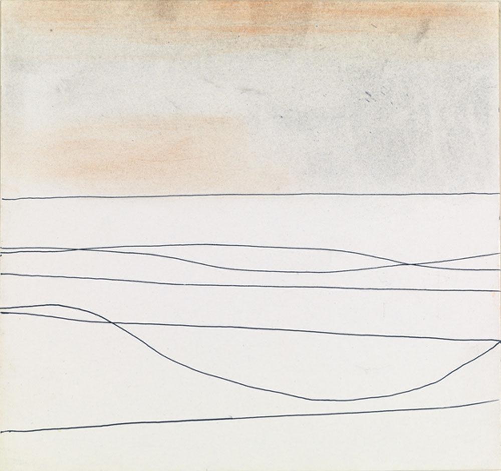 Wilhelmina Barns-Graham, Seven Lines No 2 1982 (BGT 789)