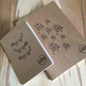 CARE Making for Good - A6 & A5 recycled sketchbooks
