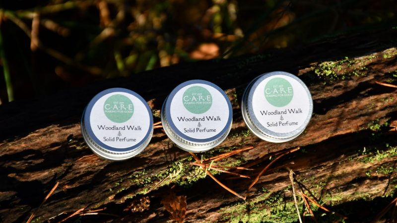 CARE Woodland Walk solid perfume
