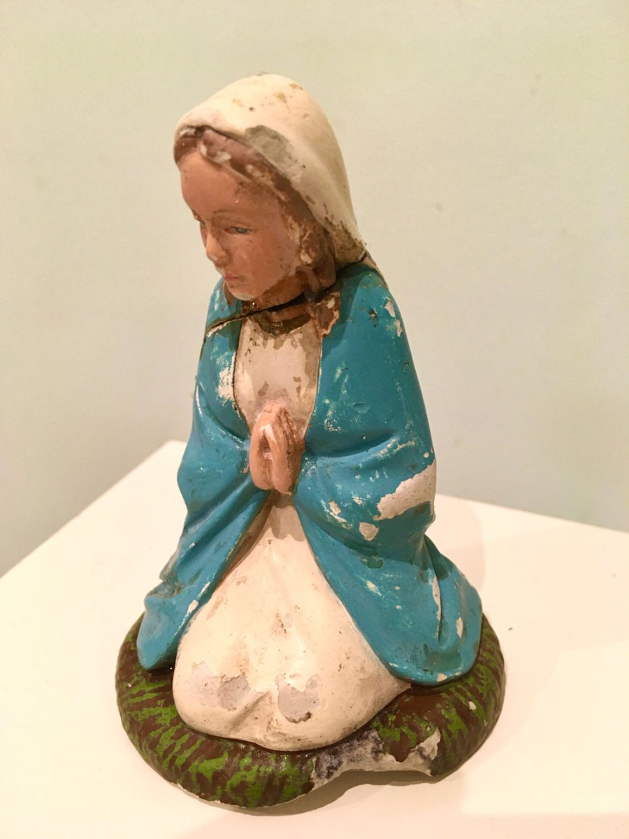 Finola Scott, repaired figure of Mary