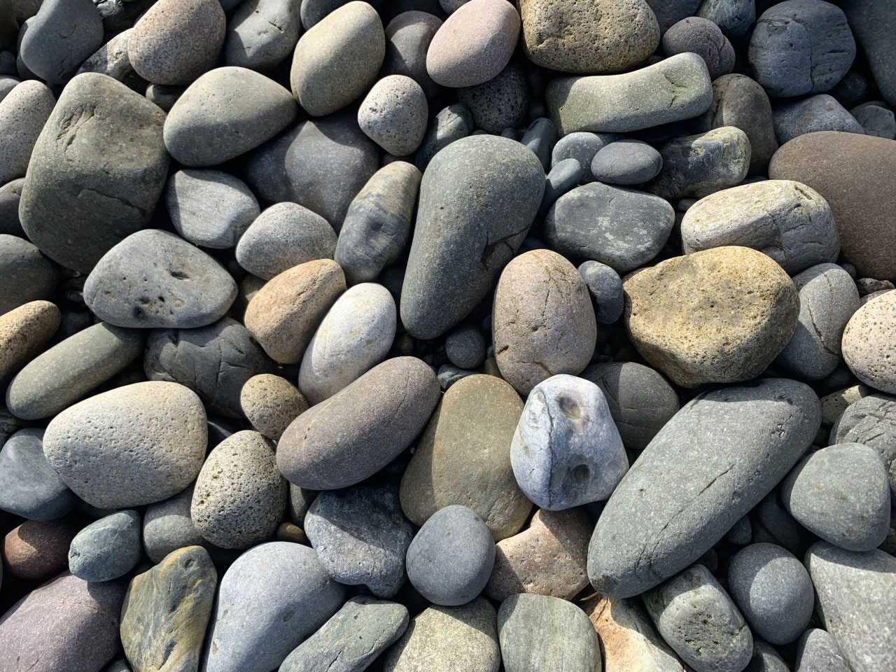 Scottish rocks, Isle of Skye